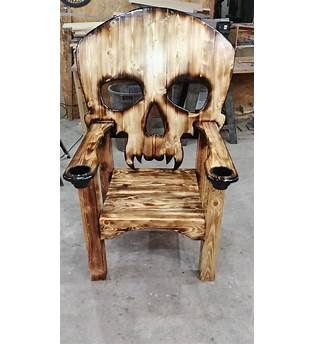 Skull Outdoor Chair Plans