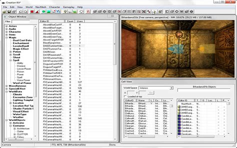 Skyrim Creation Kit Reload