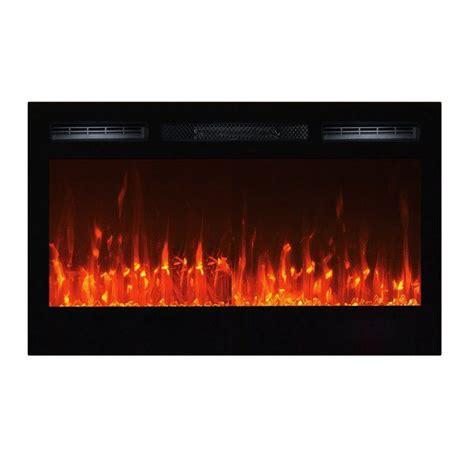 Slagle Wall Mounted Electric Fireplace