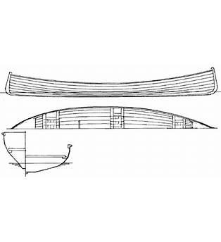 Slat Adirondack Guide Boat Building Plans