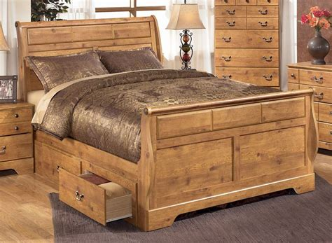 Sleigh bed plans king size Image