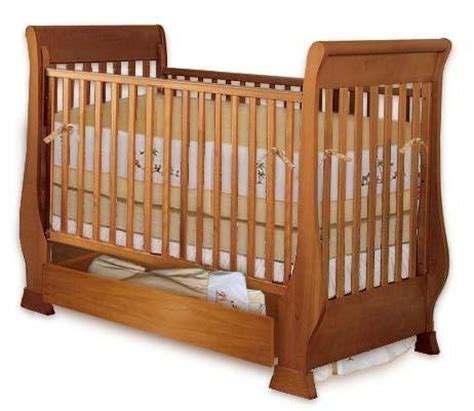 Sleigh crib woodworking plans Image