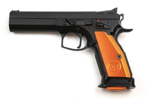Slickguns Slickguns Cz 75 Ts Orange.