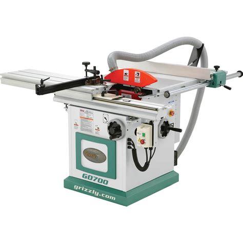 Sliding table saw with scoring blade Image