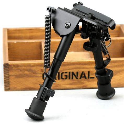 Sling Attached To Bipod For Rifle