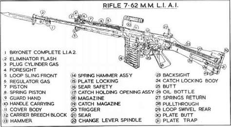 Slr Rifle Parts Diagram