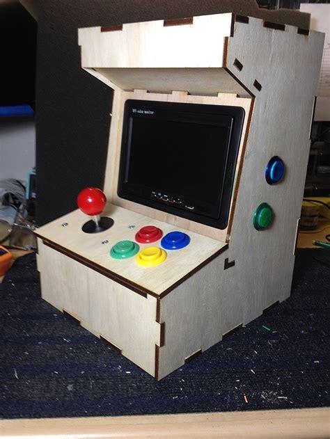 Small Arcade Cabinet Diy