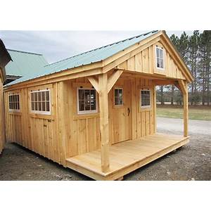 Small cabin and bunk house plans and blueprints inexpensive