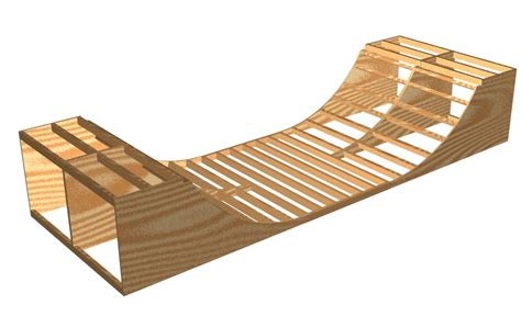 Small half pipe plans Image