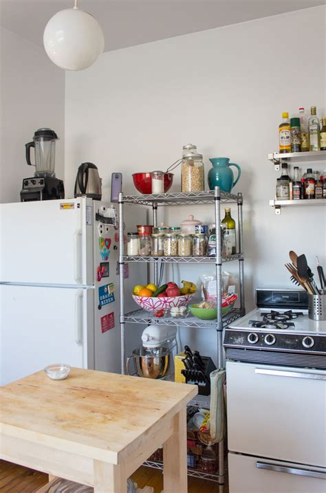 Small kitchen cabinets for storage Image