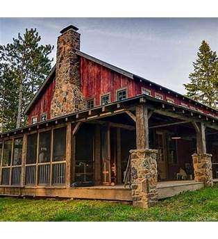 Small Log Barn Plans