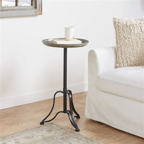 Small Metal Side Table Image