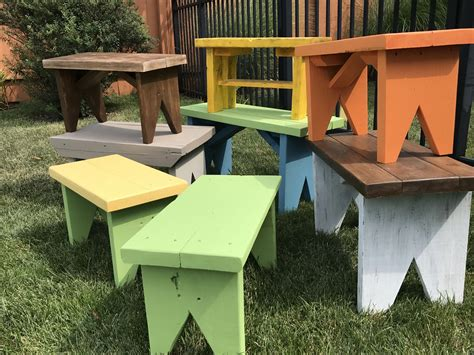 Small outdoor bench Image