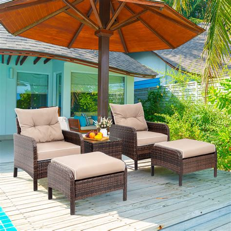 Small outdoor patio sets Image