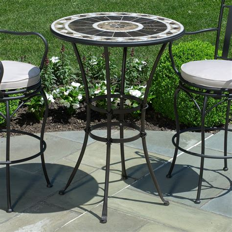 Small outdoor table set Image