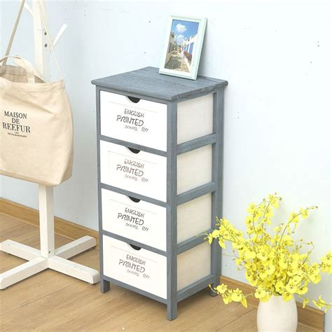 Small wood dresser no assembly Image