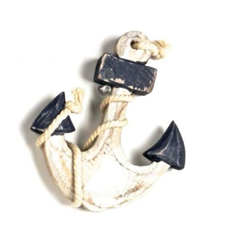 Small wooden anchors Image