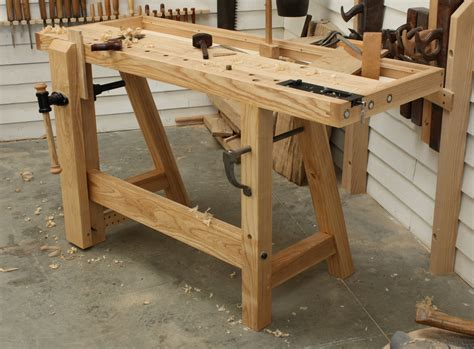 Small woodworking bench plans Image
