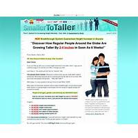 Smaller to taller increase your height with breakthrough research! step by step