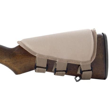 Smith Enterprise Rifle Strapon Cheek Piece Strapon Cheek Piece Tan Nylon