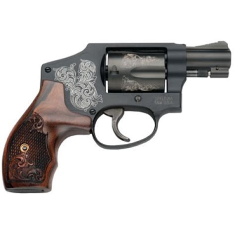Smith Wesson 150785 442 Machine Engraved Double 38