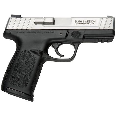 Smith Wesson Sd9 Ve Semiautomatic 9mm 4 Barrel 16 And Riflescopes Nikon Optics