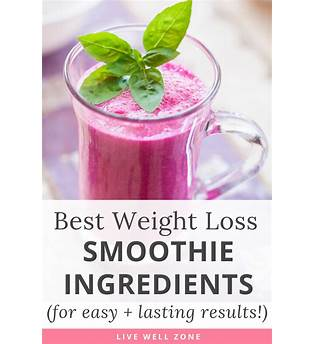 Smoothie Weight Loss Results