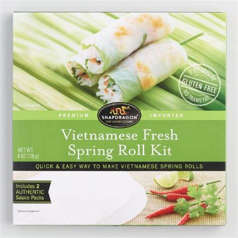 Snapdragon Spring Roll Kit