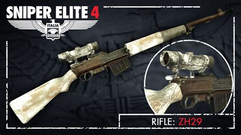 Sniper Elite 4 Best Rifle To Upgrade