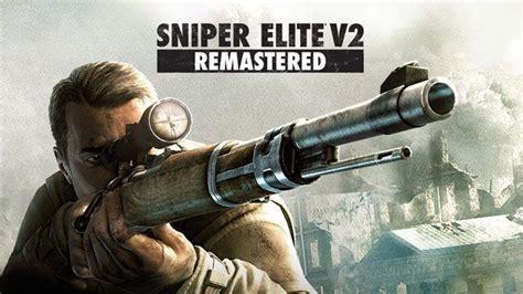Sniper Elite V2 Best Rifle