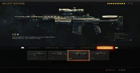 Sniper Rifle Attachments Bo4