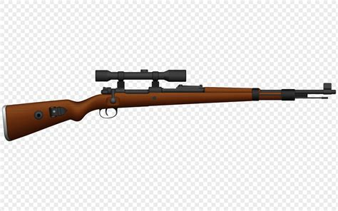 Sniper Rifle Cartoon