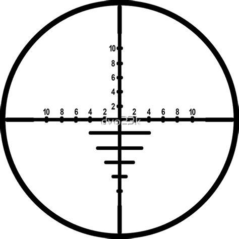 Sniper Rifle Crosshairs