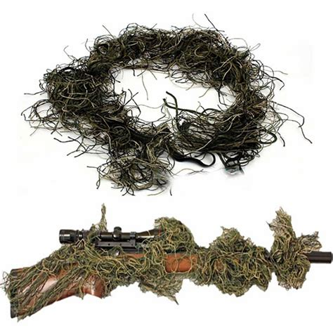 Sniper Rifle Ghillie Cover