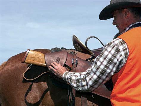 Sniper Rifle Hunting Horseback