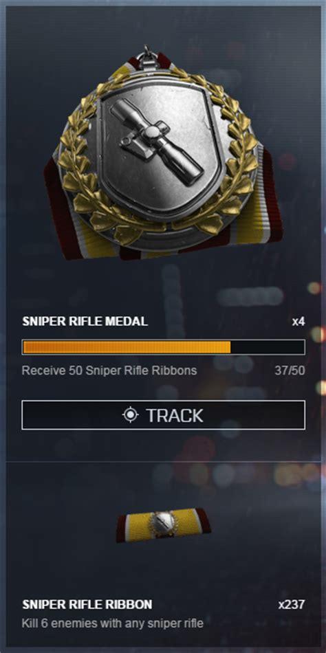 Sniper Rifle Medal Bf4