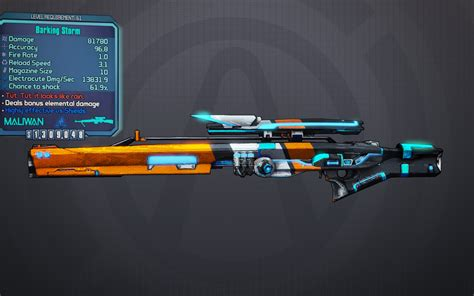 Sniper Rifle Stock Borderlands