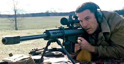 Sniper Rifle Used By Ben Afflec In The Accountant