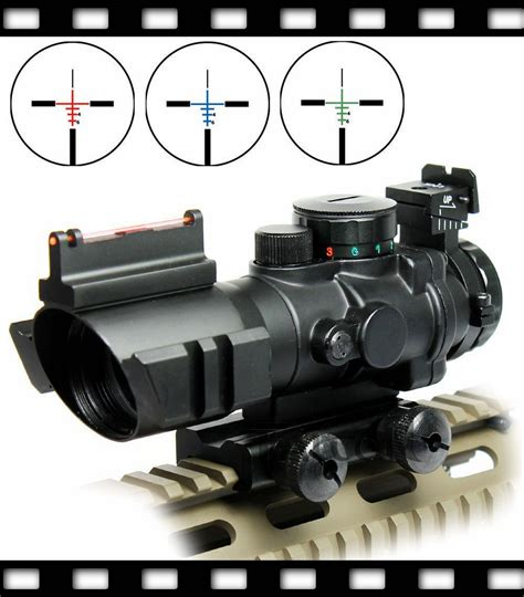 Sniper Rifle With Red Dot