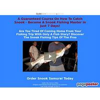 Snook samurai your ultimate guide to florida snook fishing coupon codes