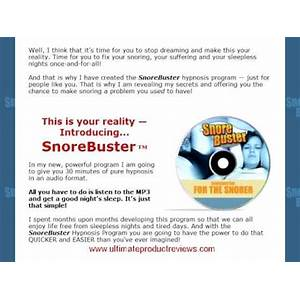 Snorebuster :: end your snoring and sleep well through the night secret