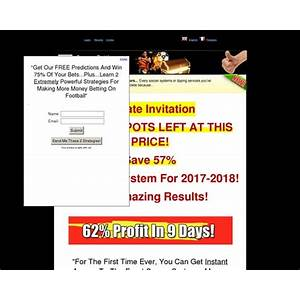 Best soccer betting master revolutionary soccer betting systems that beat any sportsbook
