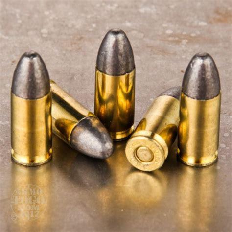 Soft Lead 9mm Ammo
