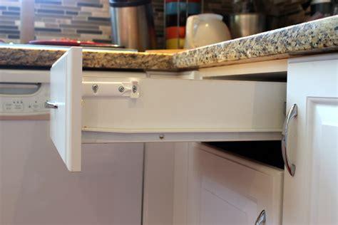 Soft close drawer hardware retrofit Image