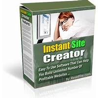 Compare software instant site creator