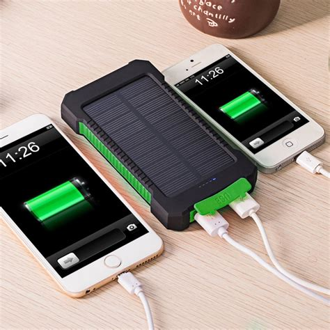 Solar battery phone charger Image