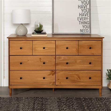 Solid wood dresser modern Image