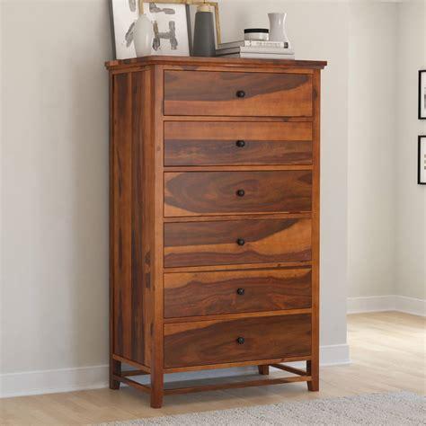 Solid wood dresser tall Image