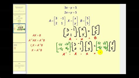 Solution Of Matrix Equation Graph and Velocity Download Free Graph and Velocity [gmss941.online]