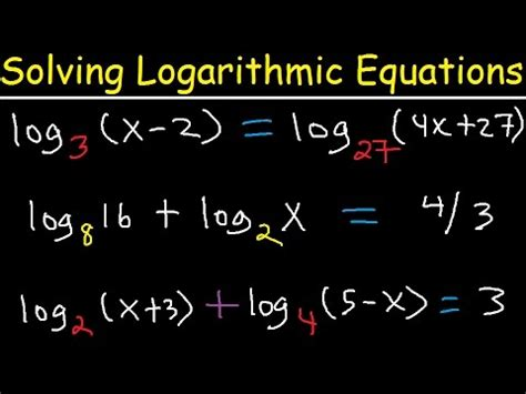 Solving Logarithmic Equations With Different Bases Graph and Velocity Download Free Graph and Velocity [gmss941.online]